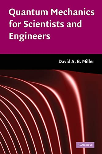 9780521897839: Quantum Mechanics for Scientists and Engineers Hardback: 0 (Classroom Resource Materials)