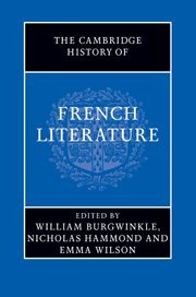 9780521897860: The Cambridge History of French Literature