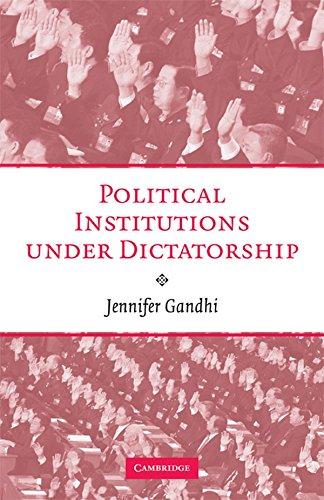 9780521897952: Political Institutions under Dictatorship Hardback