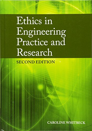 9780521897976: Ethics in Engineering Practice and Research 2nd Edition Hardback
