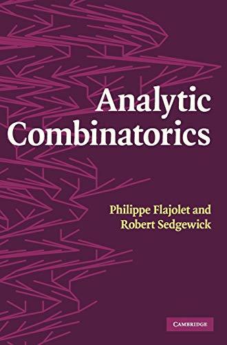 9780521898065: Analytic Combinatorics