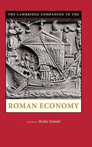 9780521898225: The Cambridge Companion to the Roman Economy (Cambridge Companions to the Ancient World)
