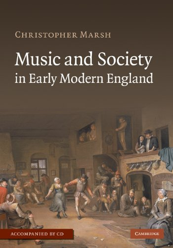9780521898324: Music and Society in Early Modern England with Audio CD