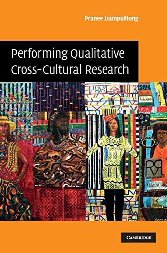 9780521898683: Performing Qualitative Cross-Cultural Research