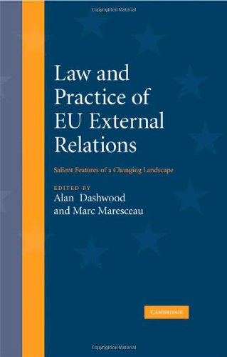 9780521899239: Law and Practice of EU External Relations: Salient Features of a Changing Landscape