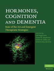 9780521899376: Hormones, Cognition and Dementia: State of the Art and Emergent Therapeutic Strategies