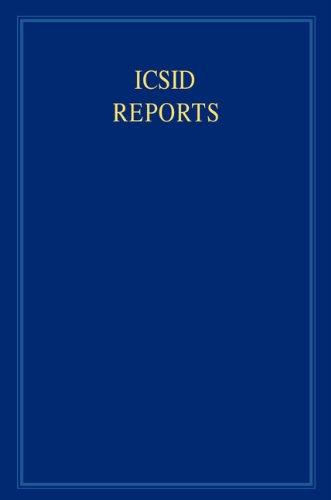 ICSID Reports: Vol. 14 (Hardback)