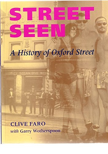 9780522489668: Street Seen: A History of Oxford Street