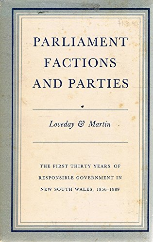 Parliament, Factions and Parties Loveday, Peter