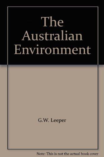 9780522839593: The Australian Environment