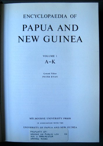 9780522840254: Encyclopaedia of Papua and New Guinea