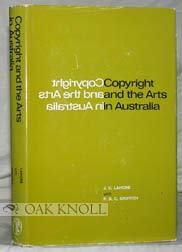 9780522840650: Copyright and the Arts in Australia