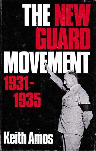 9780522840926: New Guard Movement, 1931-35