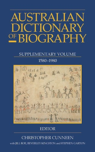 007: Australian Dictionary of Biography Volume 7: 1891-1939, A-Ch