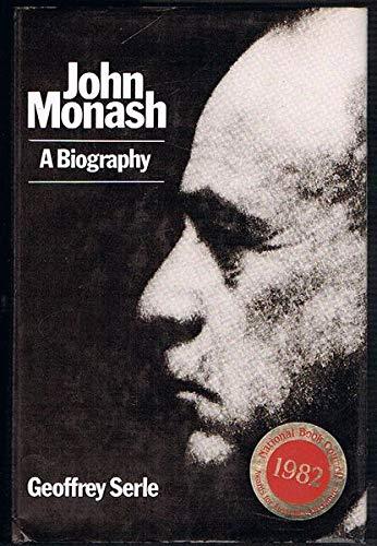 9780522842395: John Monash: A Biography