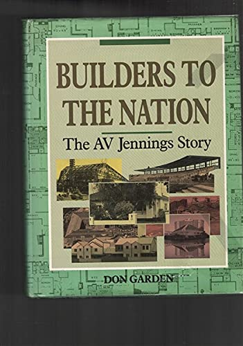 9780522844801: Builders to the Nation: The A.V. Jennings Story