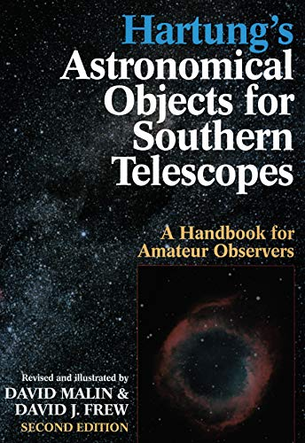 9780522845532: Hartung's Astronomical Objects for Southern Telescopes: A Handbook for Amateur Observers
