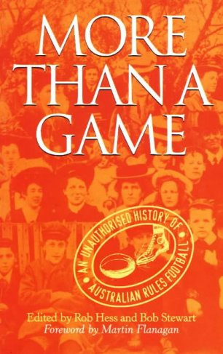 9780522847727: More Than A Game