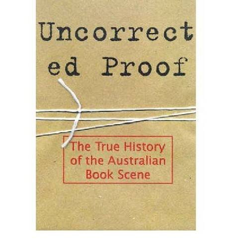 Uncorrected Proof (Paperback): Anonymous