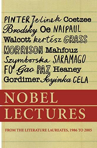 Nobel Lectures from the Literature Laureates, 1986: Harold Pinter, Elfriede