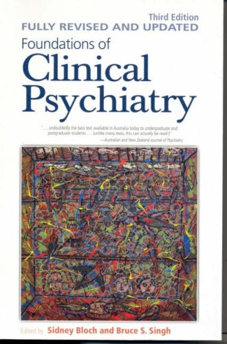 9780522853209: Foundations of Clinical Psychiatry