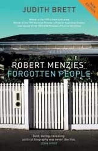 9780522853919: Robert Menzies' Forgotten People