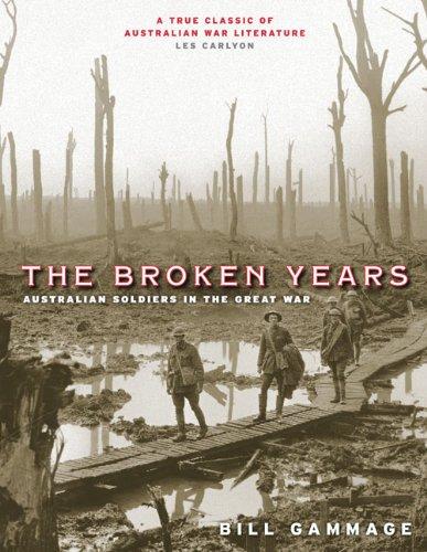 9780522854947: The Broken Years