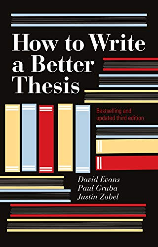 9780522861266: How to Write a Better Thesis