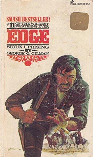 9780523003603: Sioux Uprising (Edge #11)