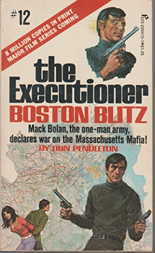 Boston Blitz (The Executioner, No. 12): Pendleton, Don