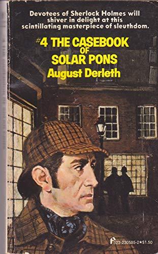 9780523005850: The Casebook of Solar Pons (Solar Pons, No 4)