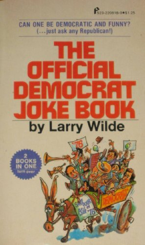 9780523008189: The Official Democrat/Republican Joke Book