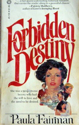 Forbidden Destiny Fairman, Paula