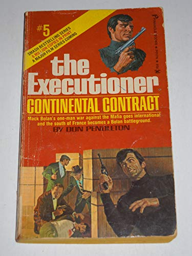 9780523403038: The Executioner # 5 Continental Contract
