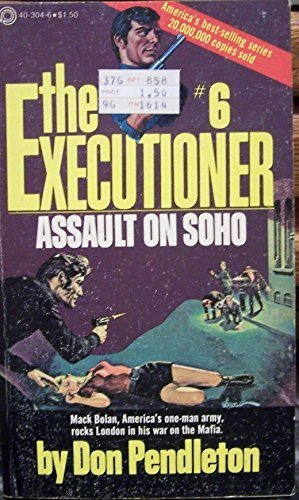 9780523403045: Assault on Soho: The Executioner #6