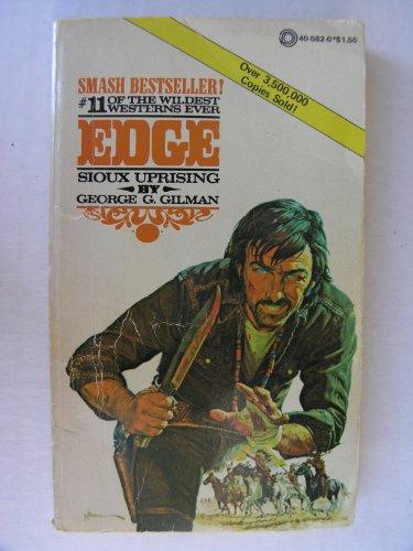 9780523405827: Sioux Uprising (Edge, No 11)