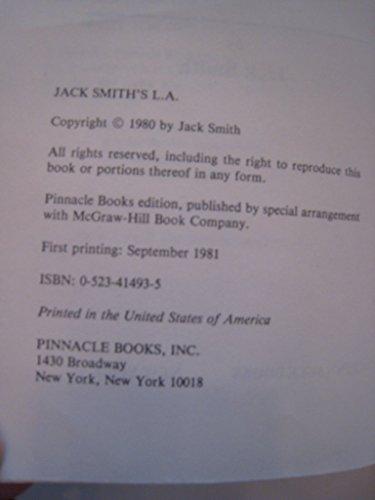 Jack Smith's L.A.: Jack Smith