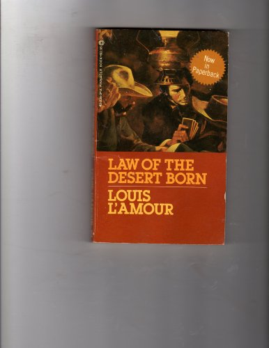 9780523422251: Law of the Desert Born