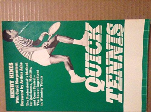 9780525042754: Quick Tennis
