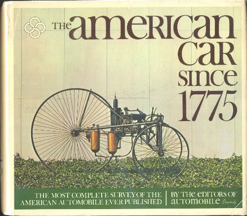 The American Car Since 1775