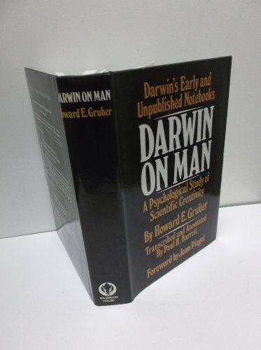 Darwin On Man: A Psychological Study Of Scientific Creativity.: Gruber, Howard E.; Barrett, Paul H....