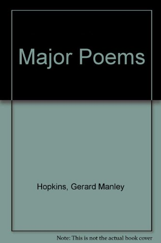 Major Poems (0525109293) by Gerard Manley Hopkins