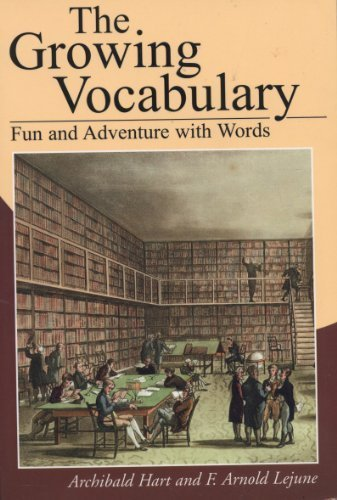9780525118695: The growing vocabulary: Fun and adventure with words