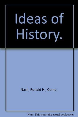 9780525131274: Ideas of History.