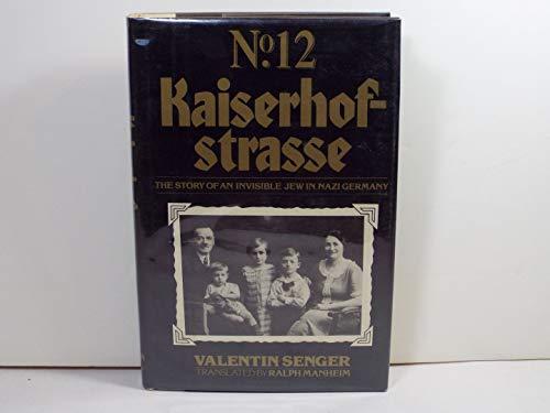 9780525138167: Kaiserhofstrasse 12