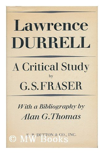 Lawrence Durrell: 2Criticism: Fraser, Antonia