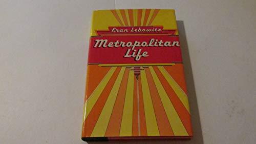 9780525155621: Metropolitan Life