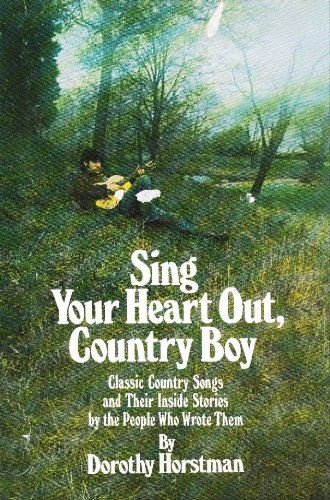 9780525204657: Sing Your Heart Out, Country Boy