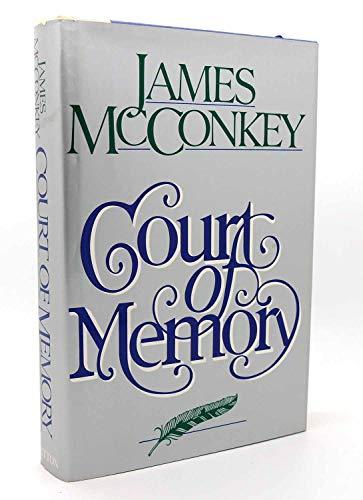 Court of Memory: McConkey, James