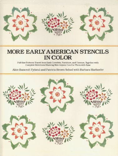 9780525242406: More Early American Stencils in Color